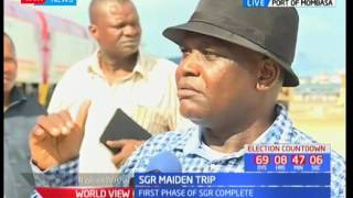 Nyali MP-Awiti Bolo the political benefits of SGR to the people of Nyali