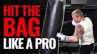 How to Hit the Heavy Bag Like a PRO in Boxing