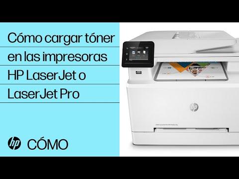 Instalación de cartuchos de tóner en su impresora HP LaserJet o LaserJet Pro