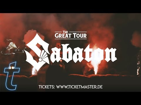 Sabaton - The Great Tour Deutschland 2020