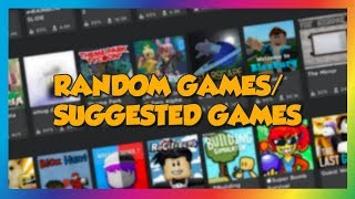 🔴 Random Games Stream! | LIVE | Roblox Games suggested by You! 🔴