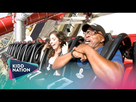 KiddNation TV - Big Al Rides HARLEY QUINN Spinsanity at Six