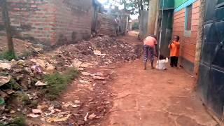 preview picture of video 'Slum in Kenya Трущобы Кении'