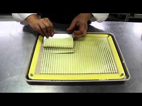 Modernist Cuisine – Striped Mushroom Omelet