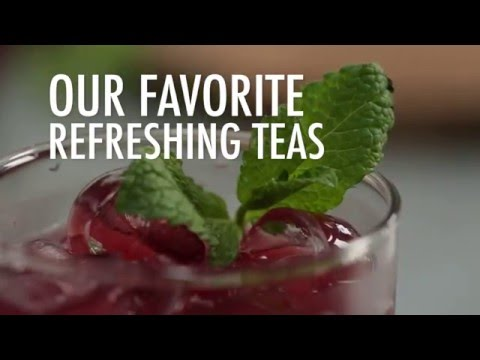 Our Favorite Refreshing Teas