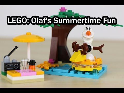 Vidéo LEGO Disney 30397 : Les vacances d'Olaf (Polybag)