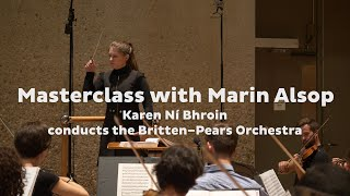 Romeo & Juliet 'Dance of the Knights' • Marin Alsop conducting masterclass • BPYAP • Snape Maltings