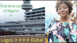 FIRST TIME FLIGHT   Lagos to Dubai   Travel Vlog   Victoria Ajadi