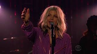 Fergie - A Little Work (Live @THE Late Show)