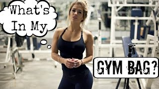 What's In My Gym Bag?? | The Necessities