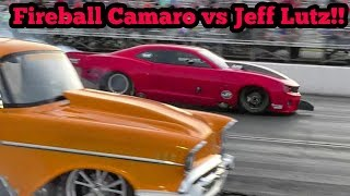 Fireball Camaro vs Jeff Lutz at Memphis No Prep Kings 2