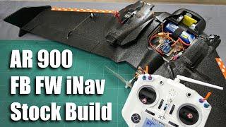 AR900 Wing iNav Fixed Wing FB Group stock build