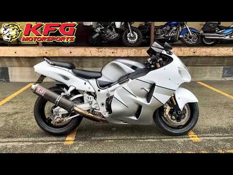 2005 Suzuki Hayabusa in Auburn, Washington - Video 1