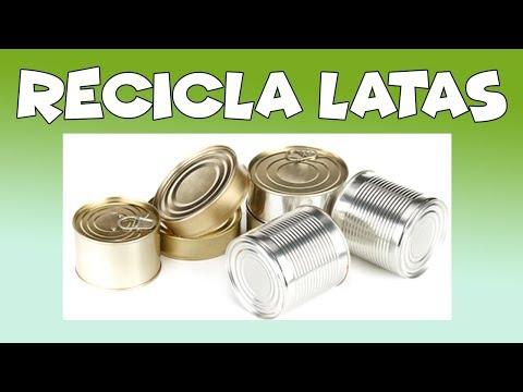 reciclar latas de metal