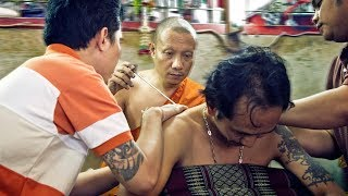 TATTOO FROM A BUDDHIST MONK