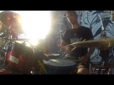 Sagittari - Sagittari - Viking - M/M - ( Drum cam GoPro)