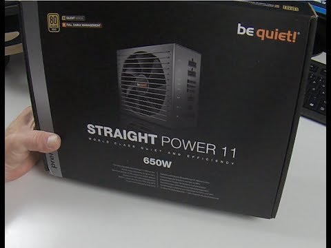Straight Power 11 Netzteil 650 Watt Be Quiet