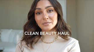 CLEAN BEAUTY HAUL + TUTORIAL | madametamtam