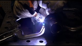 Tig Welding Stainless Steel to High Strength Steel