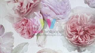 I Want Wallpaper Arthouse Diamond Bloom Floral Wallpaper  25700