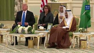 President Trump Participates in the Signing Ceremony