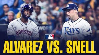Rays stud Blake Snell vs. Astros slugger Yordan Alvarez: Snell comes to close ALDS Game 4