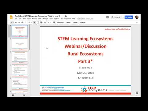 May 2018 – E2E Conversation: Rural Ecosystems