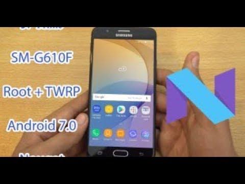 HOT HOT ] Root J7 Prime Andoid 7 0 (G610F) - Видео