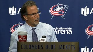 Gotta Hear It: John Tortorella has the shortest postgame conference ever