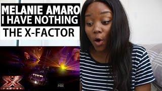 X-FACTOR USA - Melanie Amaro - I Have Nothing - Reaction!