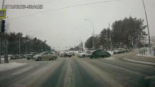 ДТП 23.03.18 Honda Civic и Daewoo Nexia
