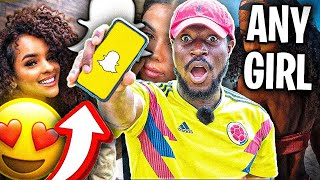 How To Snapchat A Girl You Don't Know | SNAP YOUR CRUSH