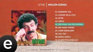 Bir Mana Var Sözlerinde (Müslüm Gürses) Official Audio #birmanavarsözlerinde #müslümgürses