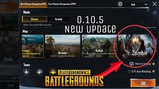 Pubg Mobile 0.10.5 Zombie Mode Beta Update Is Here | Royal Pass Season 5 | Download Link & Many More
