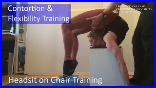 25 Flexyart Contortion: Headsit Training On Chair/block - Also For Yoga, Pole, Ballet, Dance People