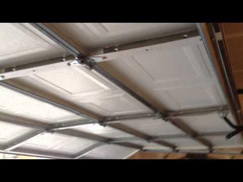 DIY Garage door Fix - Garage hanging - Garage door popping