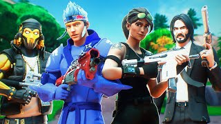 Never Losing A Game W Ninja (FORTNITE BATTLE ROYALE)