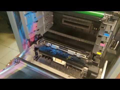 Чистка цветного лазерного принтера Samsung CLP-600