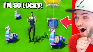 The *LUCKIEST* Fortnite moments EVER! (MUST SEE)