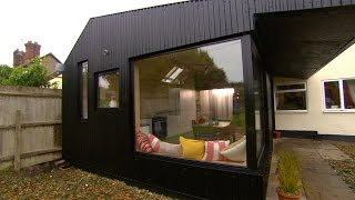 Building A Low Cost Extension Using Farmhouse Materials - The 100k House: Tricks Of The Trade - BBC