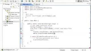 Java Reading a CSV File Tutorial