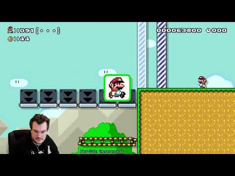 Worst Speedrun Ever - 100 Mario Super Expert