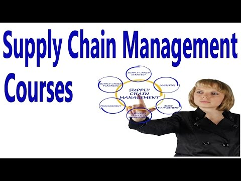 Supply Chain Management Courses - YouTube