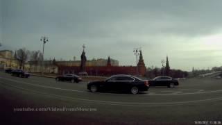Кортеж у Кремля