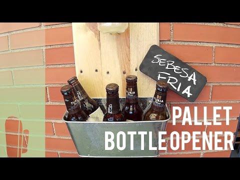 Vintage Flaschenöffner mit Bierkühler für die Wand