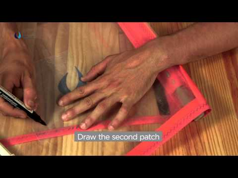 DrSails Tricks & Tips: Windsurf emergency repair (tear)