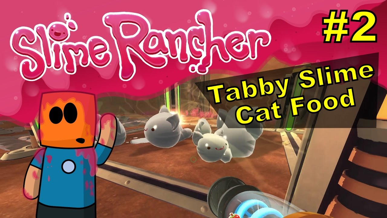 Slime Rancher #2 | Tabby Slime Cat Food
