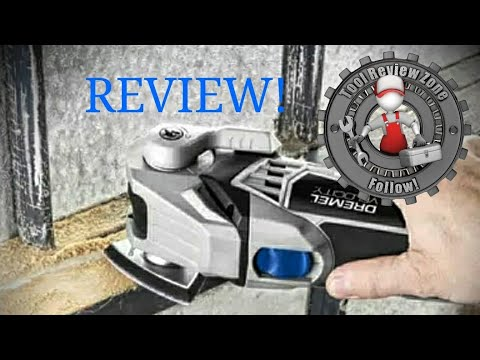 Dremel Velocity 7.0 Amp Corded 2-Position Oscillating Tool REVIEW! (VC60-01)