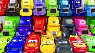Disney Cars 3 Toys Lightning McQueen Mack Racers Haulers Cartoon for Kids