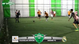 İddaa Rakipbul Konya Ligi Açılış Sezonu YALDIZLAR DÖKÜM  ANORM FC Karşılaşması